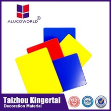 Alucoworld marble texture colorful design Aluminum Composite plastic Panel acp walls panels for curtain wall