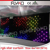 new products 2016 wedding decorations led star curtain guangzhou led stage light