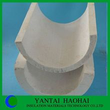 JN series calcium silicate pipe cover first class quality high density perfect sanding A1 level fire rated 25-50mm products