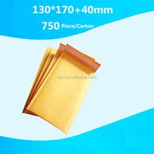 luxury metallic bubble mailer/aluminum foil bubble envelope