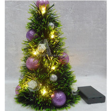 2015 min artificial Christmas Xmas tree decoration with LED light in hotel