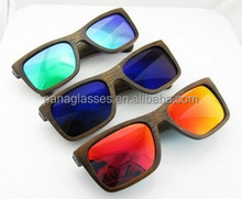 Top grade branded polarized wood sunglasses