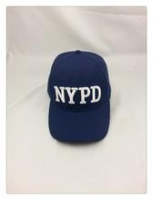 NYPD NEW YORK baseball cap /high quality wool &Acrylic baseball cap