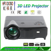 Best price Portable 3D LED projector 3000 Lumens support 1080p 720p