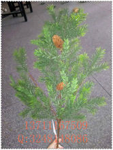 new style artificial pine branches / artificil pine tree leaves