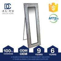 Export Quality Plain Oem Production Framed Crystal Decorative Mirror