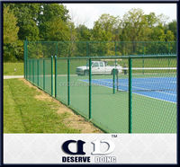 High quality green chain link fence from China supplier