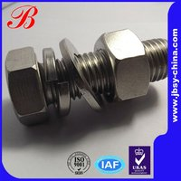 Stainless steel hex astm a325 bolts