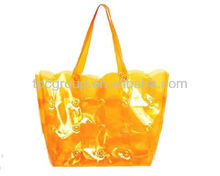 Frosted PVC handbag for promotional gifts