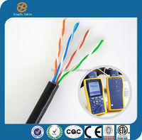Standard Color Coding Cable Best Price UTP FTP Cat5e Lan Cable Types of Data Communication Cables