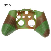 Hot Sale Modern Design 11 Colors For Choice Assecure Camouflage Silicone Rubber Case Skin Grip Cover For Xbox One Controller