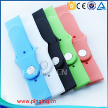 Fashion Fluoro Rubber For Apple Watch Band With Adapter, For Apple Watch Strap