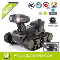 LT-728 Top Selling Wifi Control RC Tank Robot With Camera I-SPY Tank Wifi Toys