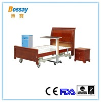 BS-T833 Luxurious Medical Equipment Electric Nursing Home Bed with Three Functions
