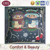 China manufacturer owl pattern tapestry tapestry cushion 50 wholesale
