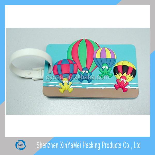 新しい透明なプラスチックpvcの値札をホルダーアイレット付き工場供給