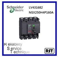Compact NSX250H4P160A LV431682 Merlin Gerin Schneider MCCB Molded Case Circuit Breaker
