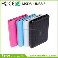 branded new portable charger mobile charger power bank 4USB port 50000mah universal battery pack