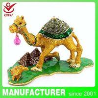 4004 colourful trinket box wholesale camel/yiwu camel jewelry box/golden camel trinkets box