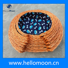 New Style High Quality Wicker Basket For Dogs