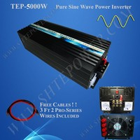 pure sine wave inverter 12v 24v 48v dc to ac 110v 120v 220v 230v 240v 5000w inverter