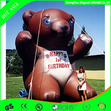 Inflatable advertising product,inflatable animal model advertisement,Giant inflatable bear model for birthday