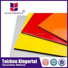 Alucoworld factory price ACM/ACP hot sale aluminum composite panel china