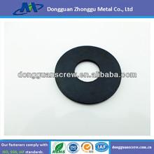 Carbon steel black oxide plain washer
