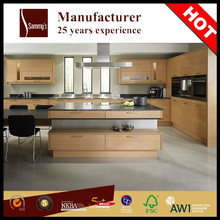 Welbom Top Quality veneer kitchen cabinet of whole kitchen cabinets set for sale