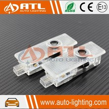 Special plug and play led car logo door light for mini cooper