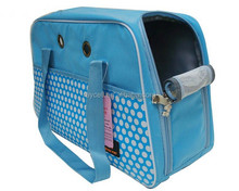 Ultra lightweight canvas dog pet carrier