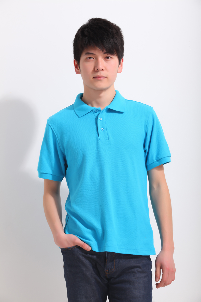 cheap work uniform breathable polo shirts for mens slim