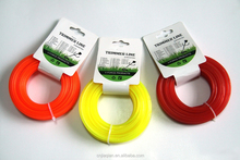 Garden Tools Nylon Trimmer Line specialty produce 1.3mmX15M PENTAGON Head Card
