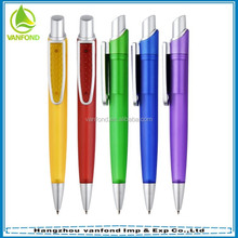High quality promotion plastic disposable ballpoint pen wholesale