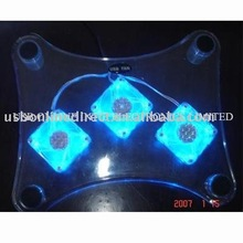 laptop cooling pad with 3 fan
