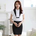 las mujeres uniformes de oficina de diseño de estilo chino