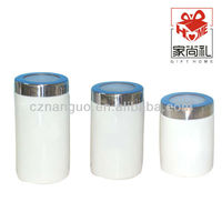 ceramic canister with lid kitchen canister