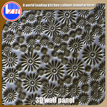 Decorative Textured MDF Board Modern 3D Wall Panels