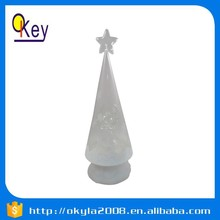 Indoor decoration LED acrylic desk christmas tree