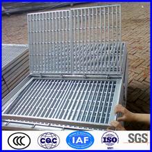 ที่ทำในจีนสังกะสีช่องระบายน้ำและตะแกรง