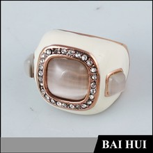 Wholesale Opal Enamel Men's Ring Made Of Gold And Diamond/2015 Manufacturer Latest Designs Fashion Men's Ring