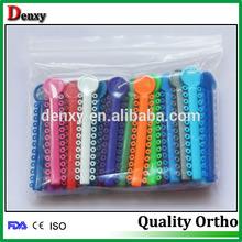 Boa venda uso médico ortodontia ligadura laço elástico