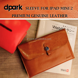 High quality hot selling leather tablet cases for iPad Mini 2 - Big button
