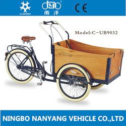 Europe 3 Wheel Cargo Bike for sale