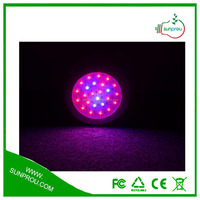 Plant Tissue Culture Universal Remote Control Grow Light UFO 50W LED Grow Light From Sunprou