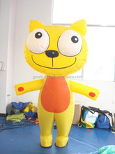 inflatable yellow cat ,Inflatable replicas,Inflatable Models