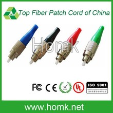 FC PC/APC blue/green/black/red boot fiber optic connector