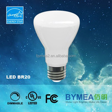 Energy efficient LED bulb LED lamp R20, BR30, BR40 new smooth outer led with UL, and energy star