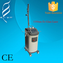 High quality MLA(micro lens array) 1550nm fractional Erbium Glass Laser Wrinkle removal