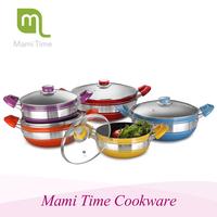 Aluminum Non-stick Coating Pans and Pots Sonex Cookware Set